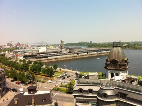 Rooftop View of the Old Port