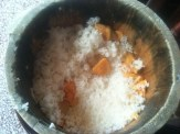 White Rice With Sweet Potatoes