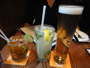 Pimm's Cup, Leo and Krommbacher Beer