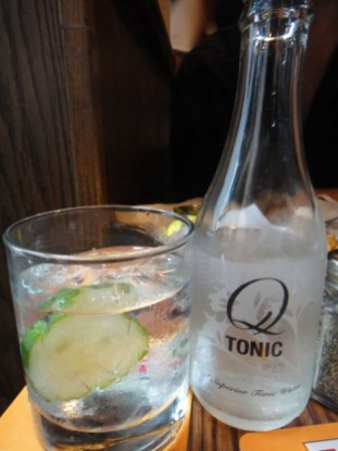 GQT - Gin Hendricks Served With Chilled Organic Q Tonic Water