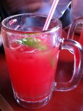 Watermelon, Cream Soda and Tequila