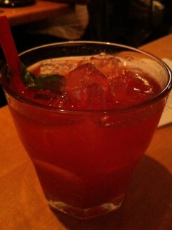 Le Coq Rouge: Vodka, Strawberry and Basil