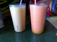 Monkey Tales: Coconut Milk, Banana, Orange & Yuniko: Mango, Stawberry, Pineapple, Orange