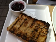 Toast With Raspberry Jam