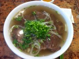 Beef Pho: Well Done Flank, Flat Brisket and Tripe