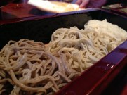 Soba 3 Ways: Outer Buckwheat Shell, Middle and Core