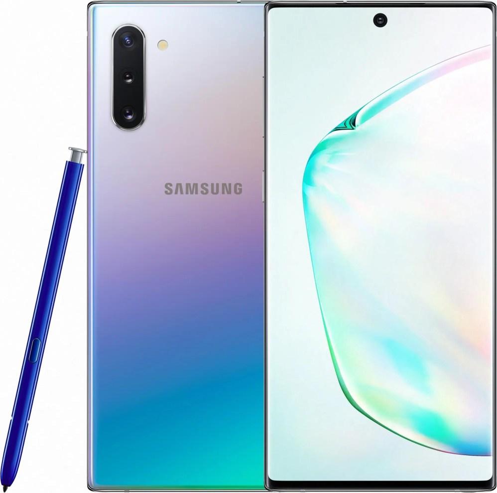 Samsung Note 10 Aura Glow