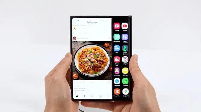 Samsung Foldables Rollable koncept