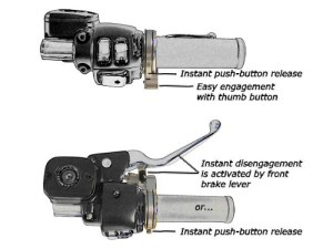 Motorcycle Cruise Control  Home  BrakeAway Products