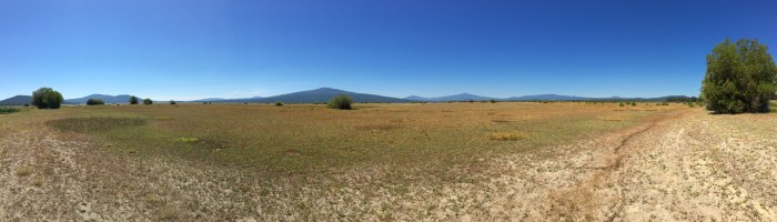 Wickiup Reservoir - dry lakebed i