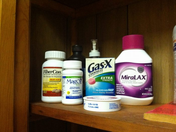 Grandma's Supplements - Fiber-Con, Gas-X, Magnesium, and MiraLax