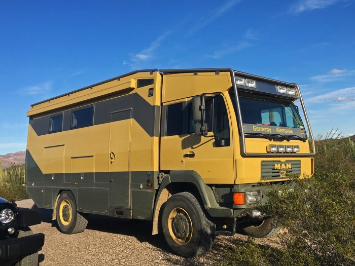 The seriously outback-ready RV from Germany