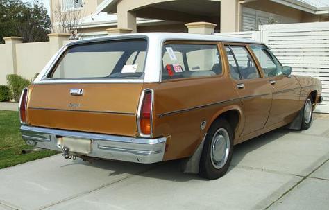 Holden HJ station wagon