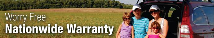 Warranty Program: Worry-free Nationwide Warranty