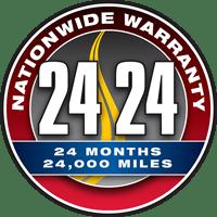 24 Month / 24,000 Mile Warranty