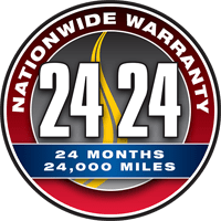 24 Month / 24,000 Mile Warranty