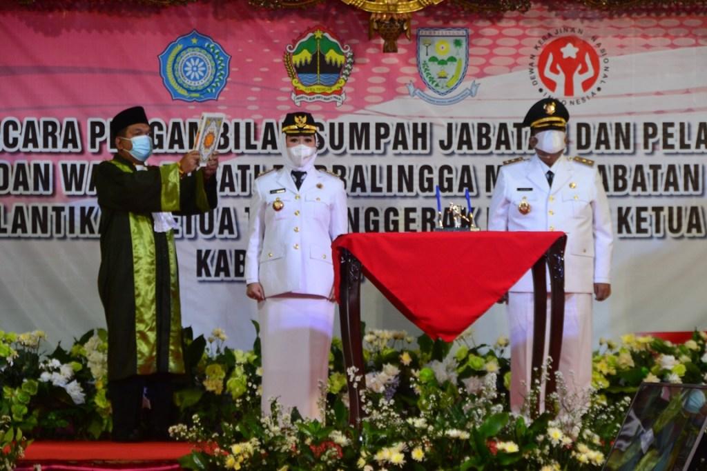 Tidak Ada Program 100 Hari Kerja, Tiwi-Dono Siap Gaspol Tangani Tiga Isu Krusial di Purbalingga