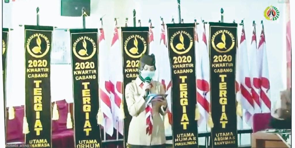 Kwarcab Purbalingga Dapat 4 Prestasi di Lomba Kwarcab Tingkat Kwarda Jawa Tengah 2021
