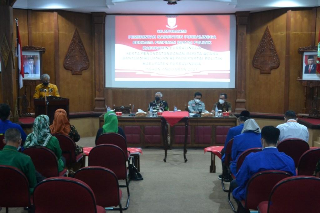 Pemkab Salurkan Dana Banpol, Ini Rincian Penerimaan Banpol di Purbalingga