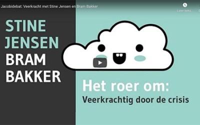 Een gesprek over veerkracht met Stine Jensen en Bram Bakker