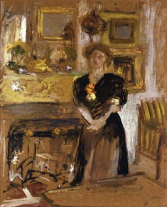 Edouared Vuillard portrait-of-madame-marie-des-jardins-fontaine 1901