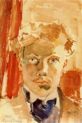 Raoul Duffy self-portrait-1901