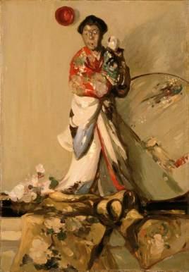 Fergusson, John Duncan; The Japanese Statuette; Perth & Kinross Council; http://www.artuk.org/artworks/the-japanese-statuette-129135
