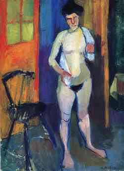 Matisse nude-with-a-white-towel-1903