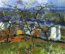 Andre Derain 2 landscape-near-chatou-1904