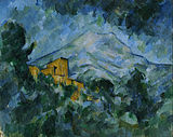 Paul_Cezanne_-_Mont_Sainte-Victoire_and_Château_Noir_-1904