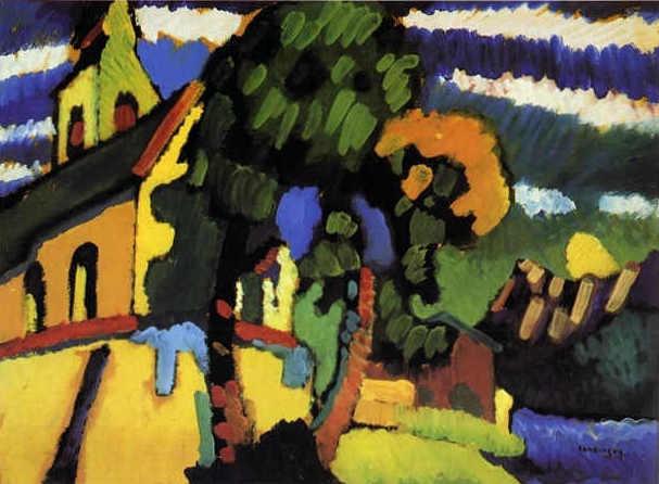 kandinsky-village-church-1908
