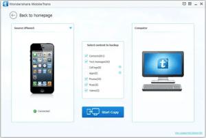 تحميل برنامج wondershare mobiletrans لنقل الملفات مجانا