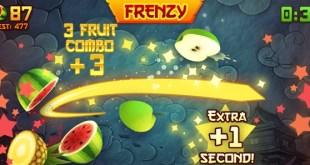 تنزيل لعبة Fruit Ninja مجانى للايفون