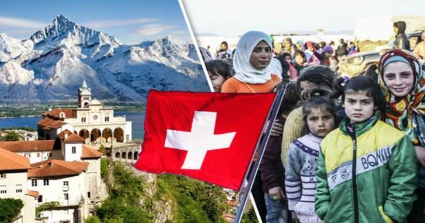 اللجوء الى سويسرا