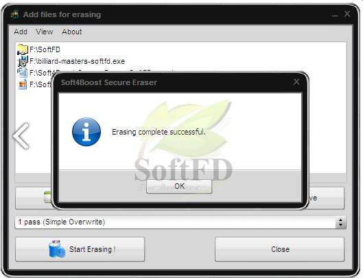 Soft4Boost Secure Eraser 1