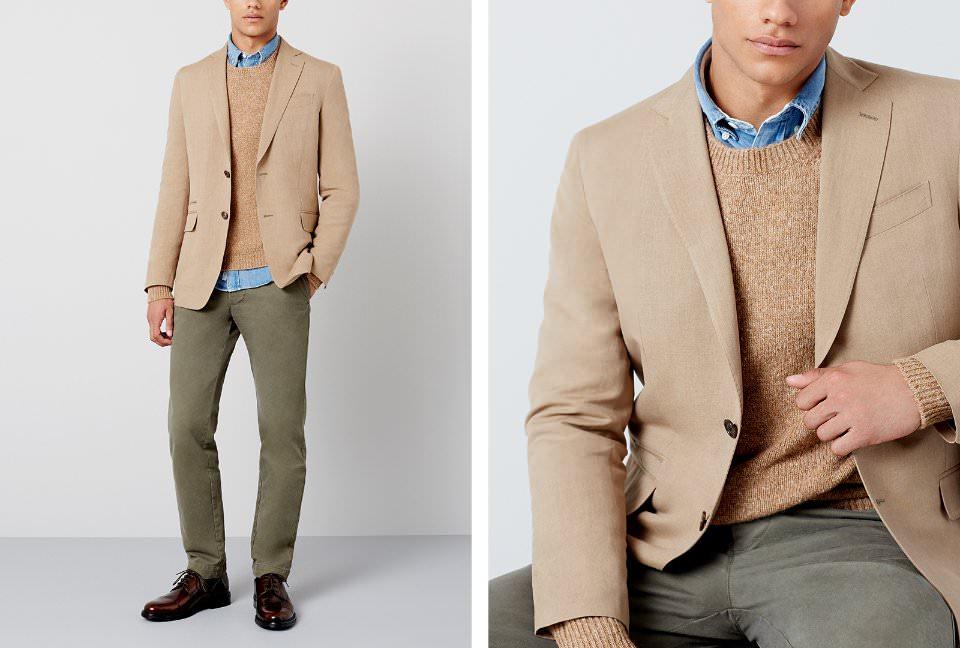 Одежда smart casual