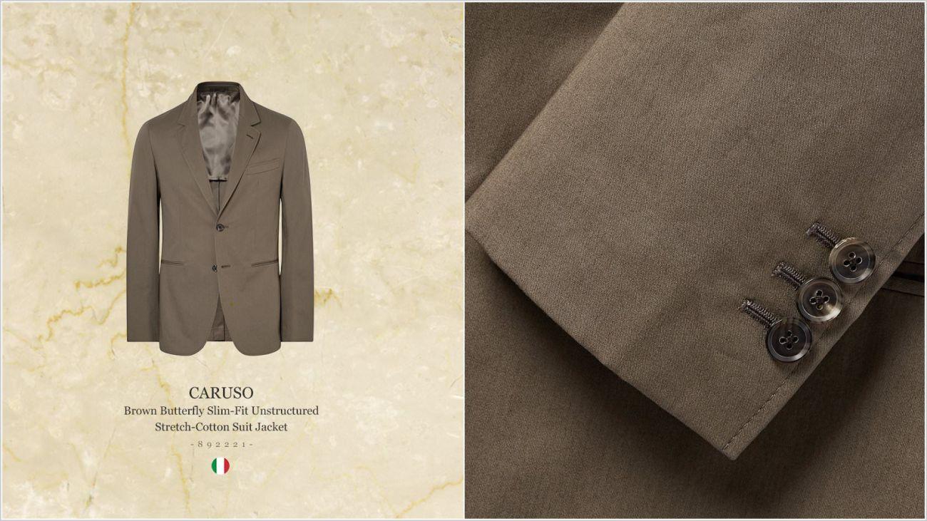 Пиджак итальянского бренда мужской одежды Карузо