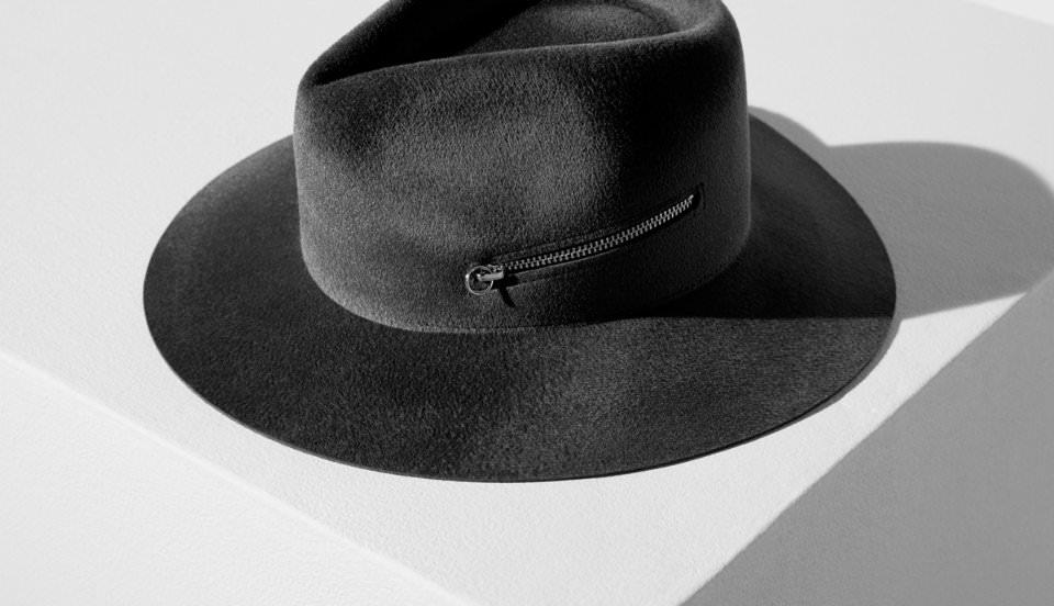 Мужская классическая шляпа