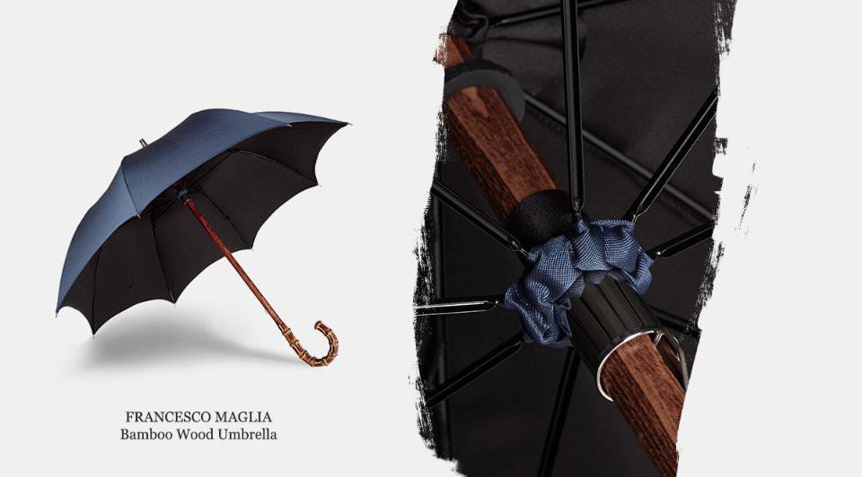 Классический зонт под дождь