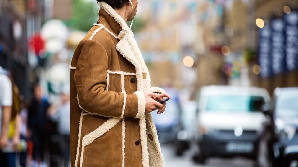 Пальто с овчинки