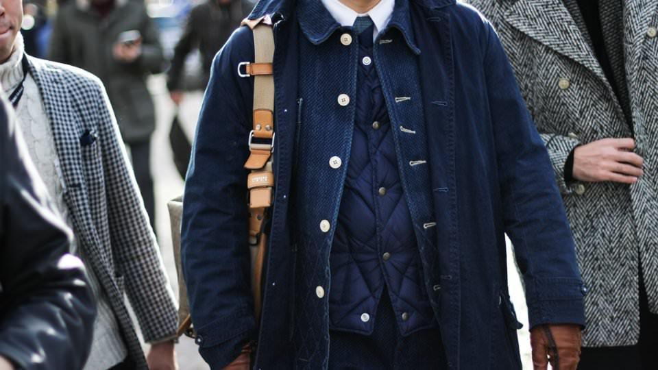 как модно одеваться зимой мужчинам