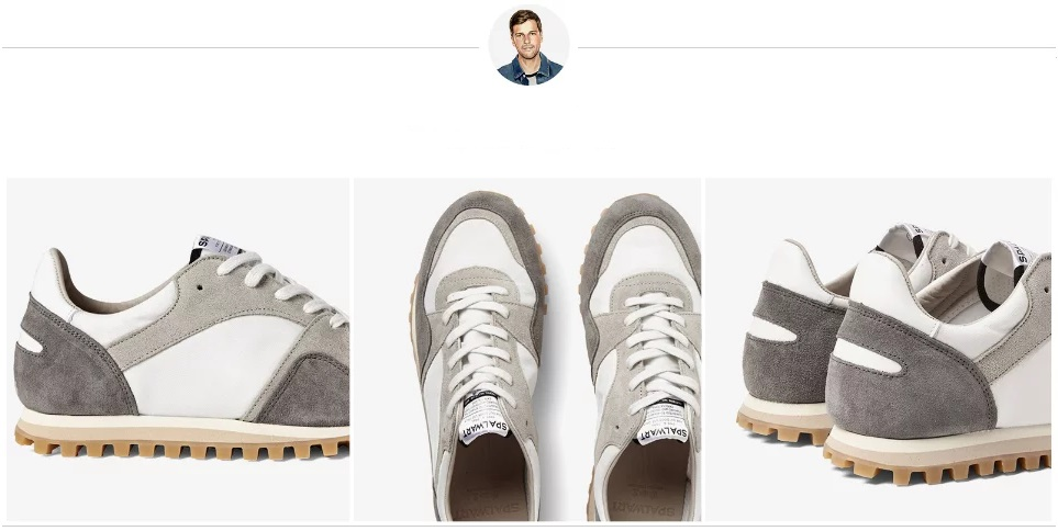 Кроссовки белые сникерс