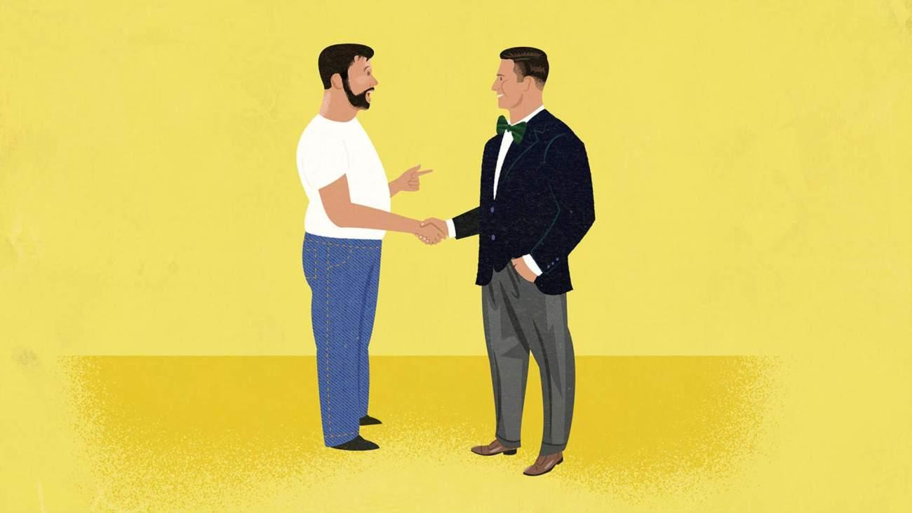 как одеваться парню крупного телосложения