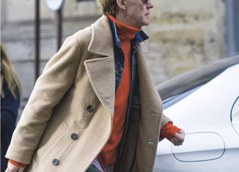 оранжевый цвет в мужской одежде