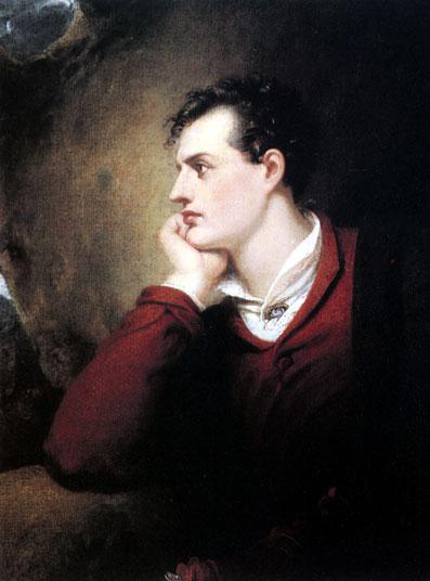 Писатель Джордж Байрон