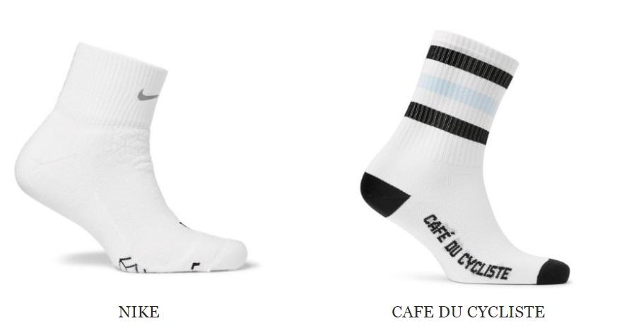 какие носки носить с кроссовками