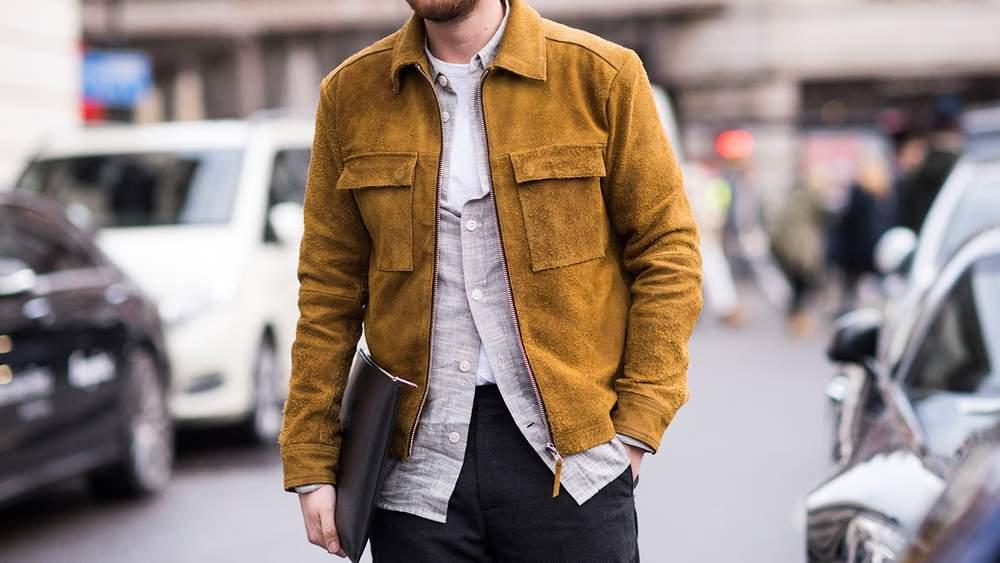 Куртка цвета кэмел