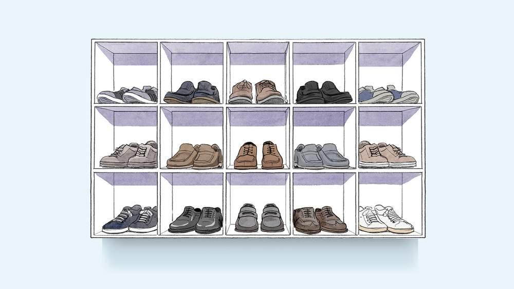 как правильно навести порядок в гардеробе