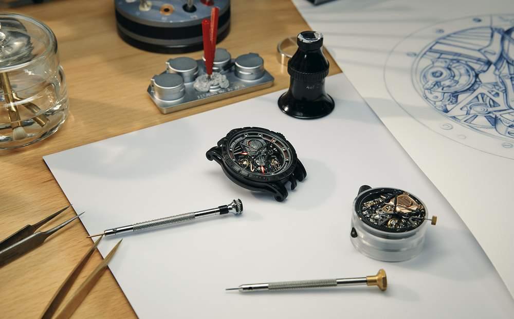Создание часов Дюбуа