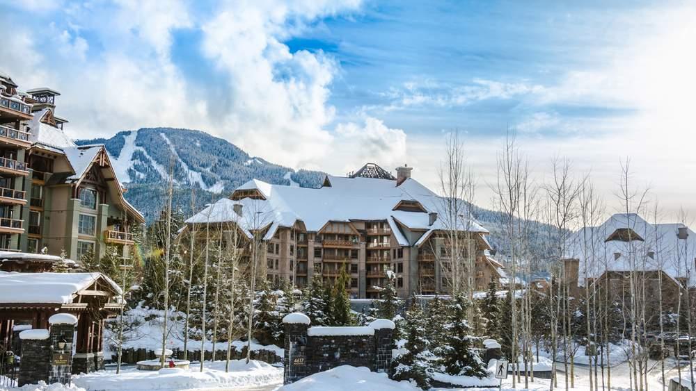 Лыжный курорт в Канаде